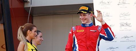 Podium for Bernstorff at the first race of the season in Barcelona