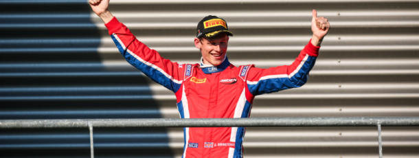 Emil Bernstorff takes GP3 feature race win at Spa